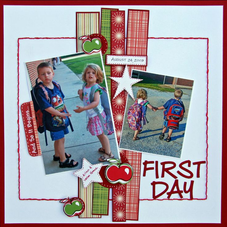 First Day - Scrapbook.com