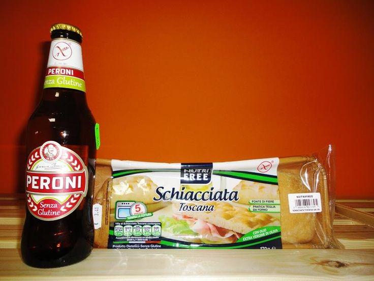 Offerta @nutrifree + #Peroni  €5! #SenzaGlutine