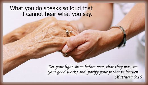 Action's Speak « Quotes to Make us Think