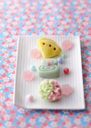 Wagashi,  Traditional Japanese Confections