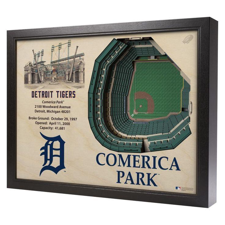 Comerica Park Detroit Michigan: Best 20+ Mlb Stadiums Ideas On Pinterest