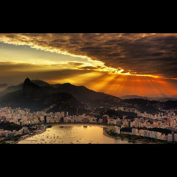 My family is spread around the world. Some of my dearest are in Rio and that's where we're headed next.
