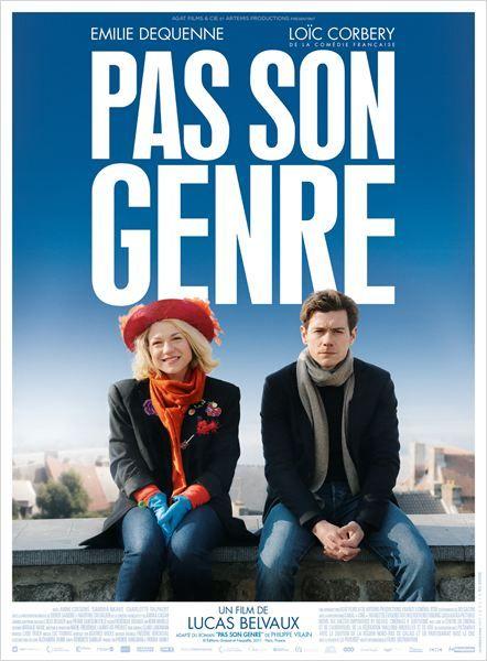 """""""Pas son genre"""" une comédie romantique de Lucas Belvaux avec Emilie Dequenne et Loïc Corbery (04/2014) <3<3<3<3"""