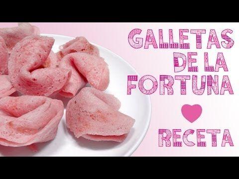 ▶ ¡RECETA GALLETAS DE LA FORTUNA EN EL MICROONDAS! (FÁCIL Y SIN HORNO) ♥ Qué cositas - YouTube