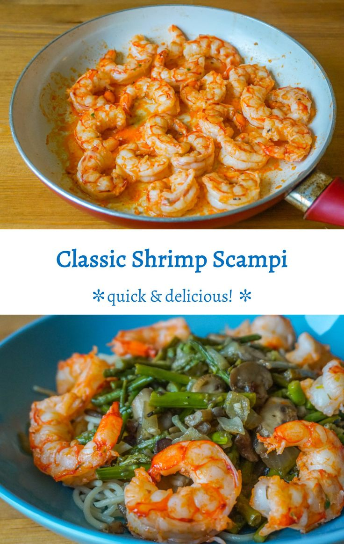 Classic shrimp scampi quick and delicious recipe