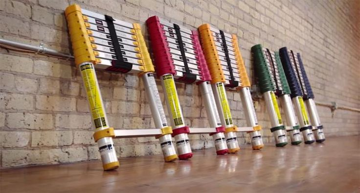 Xtend and Climb: A Telescoping Extendable Ladder