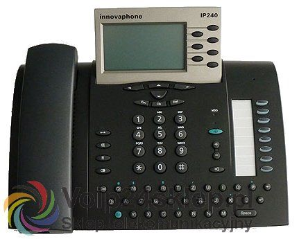 Telefon przewodowy VoIP innovaphone IP240 #voip24sklep.pl