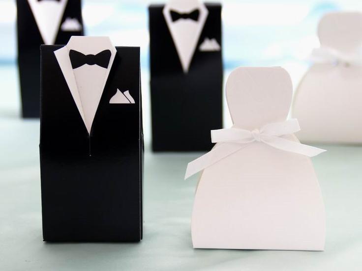 50 stk - Bryllup esker - Brudekjole - hos Til Bryllupet