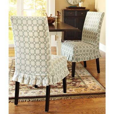 Best 11 Slip Covered Dining Chairs Images On Pinterest