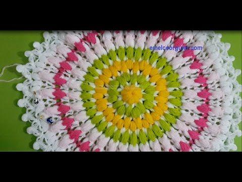 Fıstık Zincirli Yuvarlak Lif Modeli - YouTube