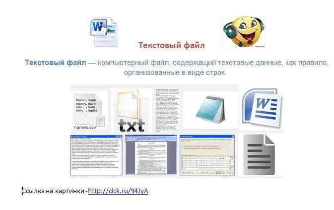Текстовый файл