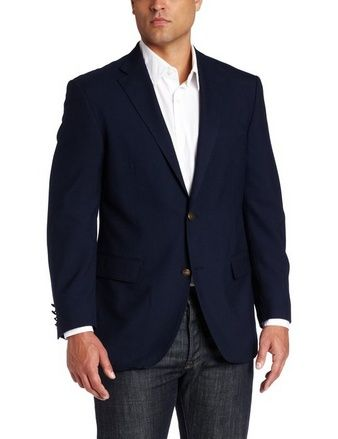 nice Men's Navy Sport Coat - For Sale Check more at http://shipperscentral.com/wp/product/mens-navy-sport-coat-for-sale-2/