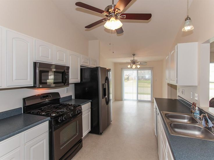 Kitchen and Break Nook.  All appliances stay!