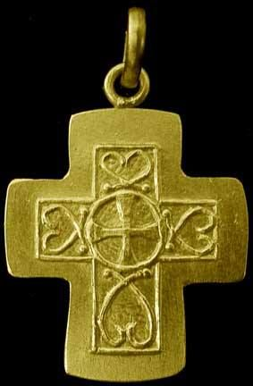 Merovingian Cross