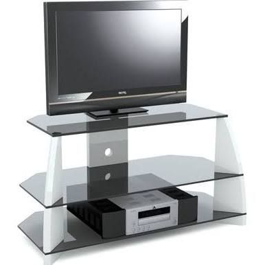 stil stand white high gloss 50 inch tv stand