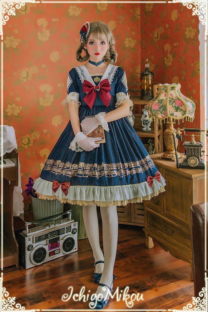 IchigoMiko 【Ballad By The River Seine】OP Dress #Leftovers