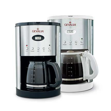 Gevalia Coffee Maker Program Instructions : Starbrand Products Gevalia 12-Cup Coffeemaker - http://www.teacoffeestore.com/starbrand-products ...
