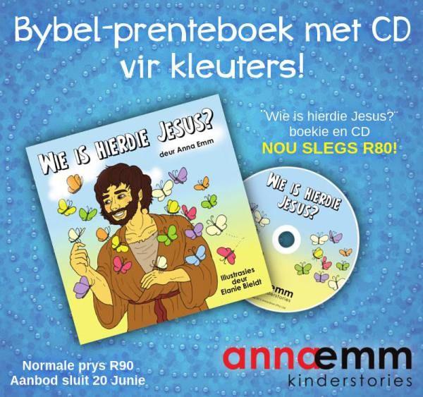 Wie is Jesus? Prenteboek vir 2-5jariges. #annaemmwapadrand #afrikaans #luisterenlees