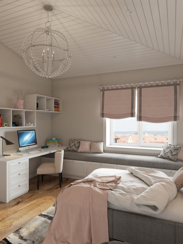 33 Schlafzimmerideen für kleine Räume 21