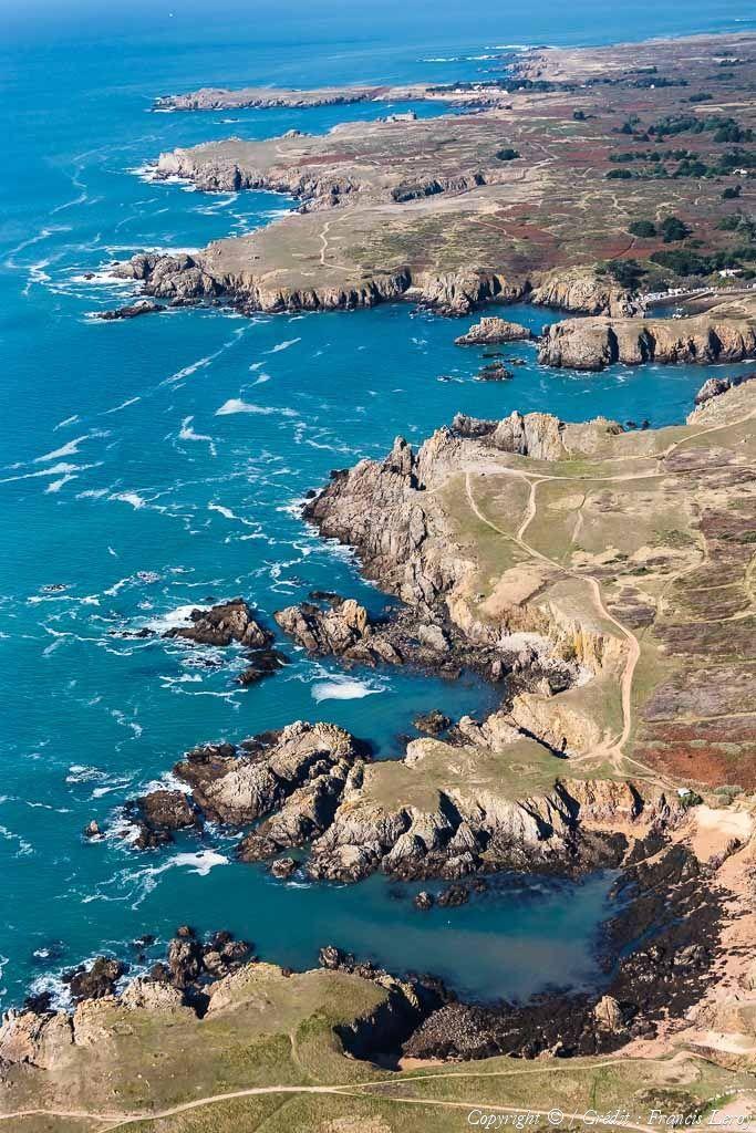 ✈️ Photo aérienne de : Ile d'Yeu - Vendée (85)
