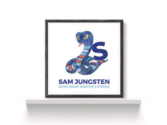 Custom text Art print, choose colours, birth details, letter, digital printable art, kids wall decor, nursery or children's room - baby gift