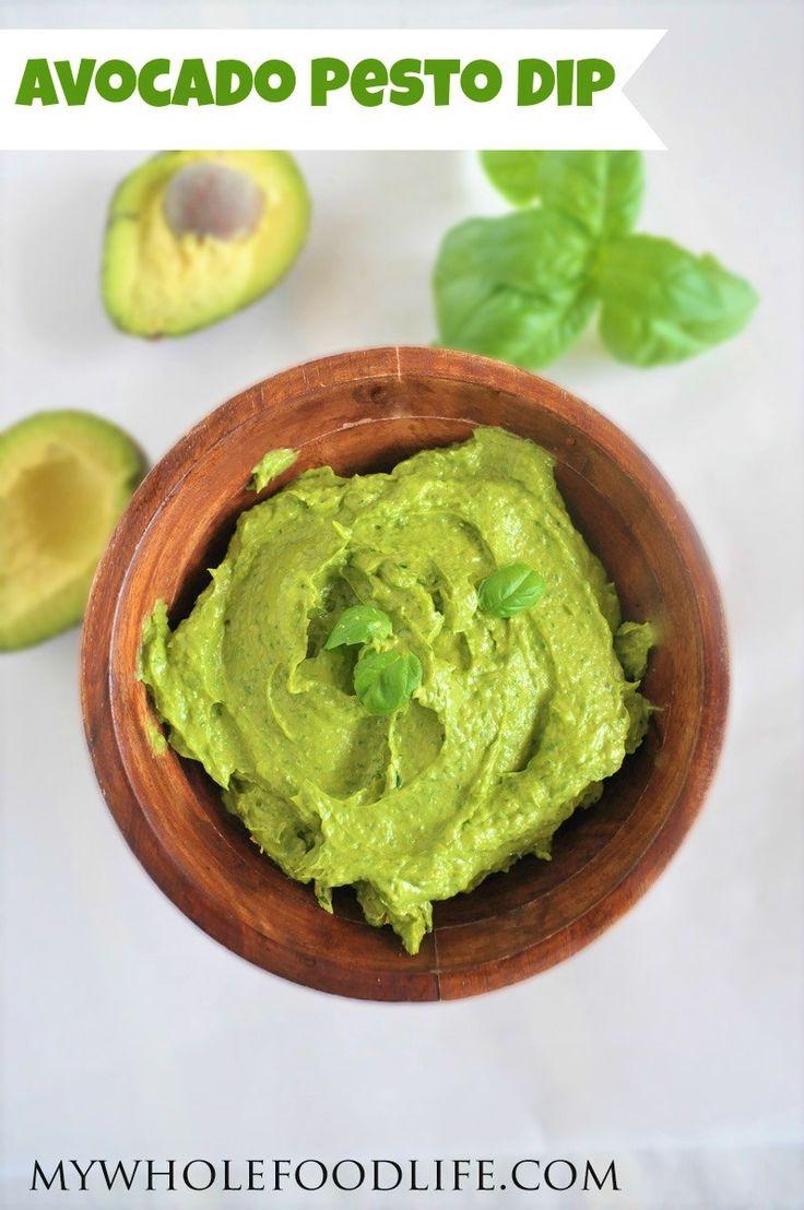 Heathy Avocado Pesto Dip