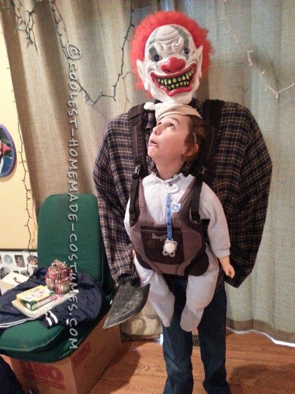 Optical Illusion Baby Snatcher Costume Boy
