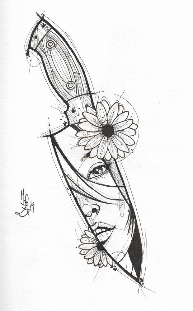 Mike Revolution is creating ilustraciones – Tattoo Ideen – Color Photo Pinterest