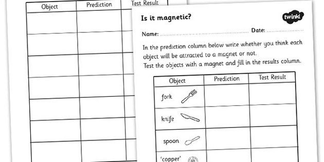 Pictures Magnet Worksheet Getadating – Magnet Worksheet