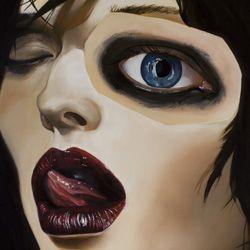 Kim (oil canvas - 100x140 cm - 2014)