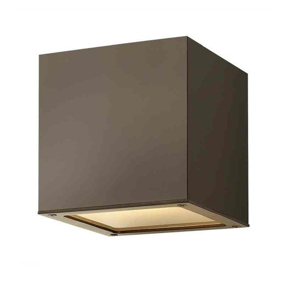 Outdoor Wall Sconce Downlight : Kube Outdoor Wall Sconce Exterior Sconce-downlight only Pinterest Outdoor walls, Wall ...