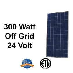 Renogy 300W Polycrystalline Solar Panel is the first step to converting your house to solar. These panels are 24V and are perfect for decreasing your electrical bill, or for a large off-grid system. Whether you want to connect this to the electrical grid, or power your off-grid cabin, Renogy's 300W Polycrystalline Solar Panels will be the key element to your solar system.