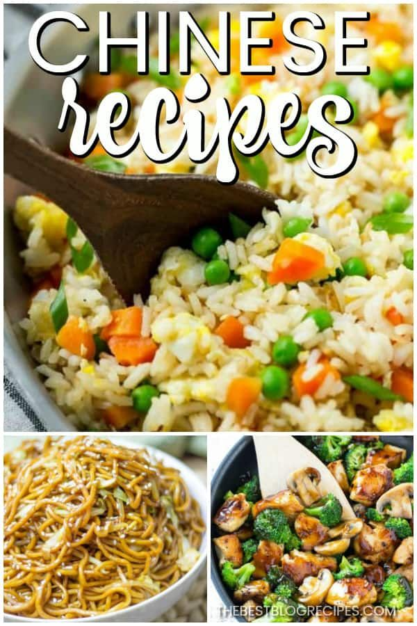 The Best Chinese Recipes The Best Blog Recipes Best Chinese Food Healthy Chinese Recipes Recipes