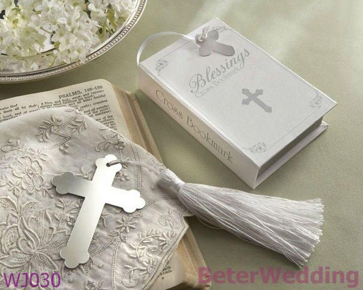 Zegeningen zilveren kruis bladwijzer bruiloft souvenir wj030 gift_wedding