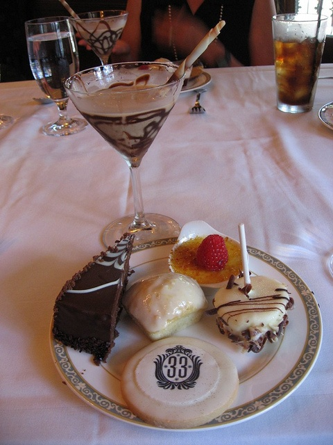 club 33 chocolate martini. reminded me of you, @Ariel S