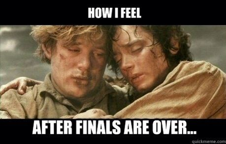 It's over. It's finally over. #finals