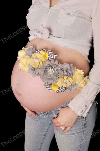 Maternity Sash, Gender Neutral Maternity Sash. Are you kidding me!? Why not just puffy paint the gut while we're at it!?