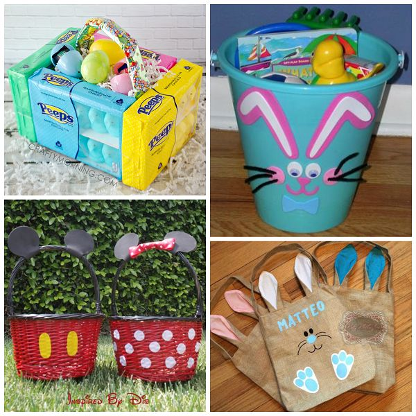 Best 25 unique easter basket ideas ideas on pinterest creative unique easter basket ideas for kids crafty morning negle Gallery