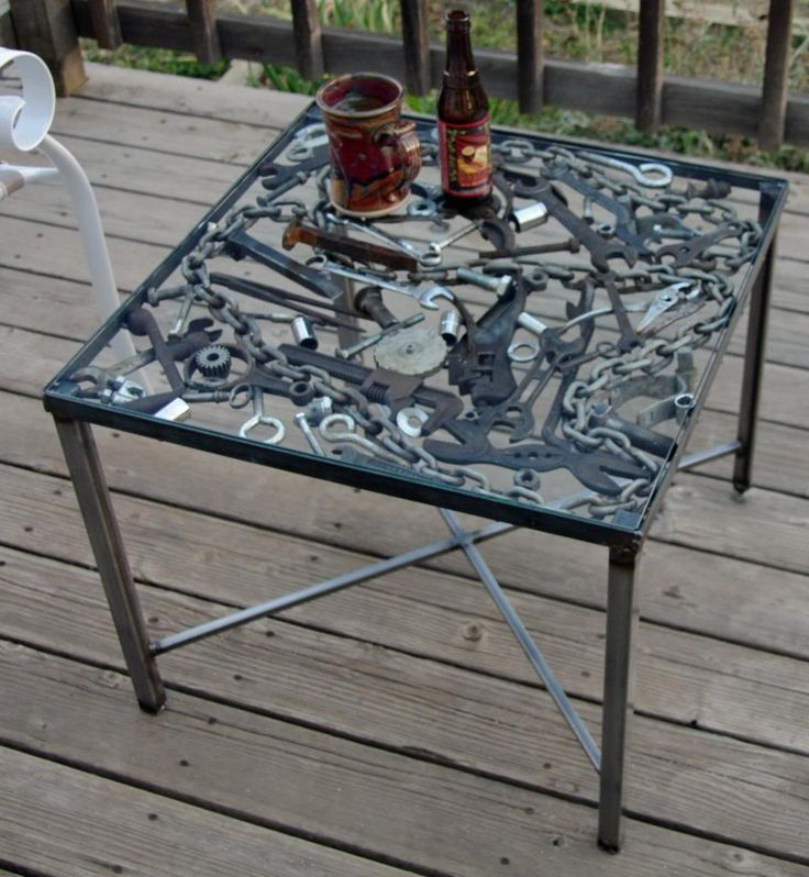 Got the Spring Cleaning Bug? Turn your scrap into a workshop and weld a table like this with your very own Multiplaz 3500. www.multiplaz.com/buy