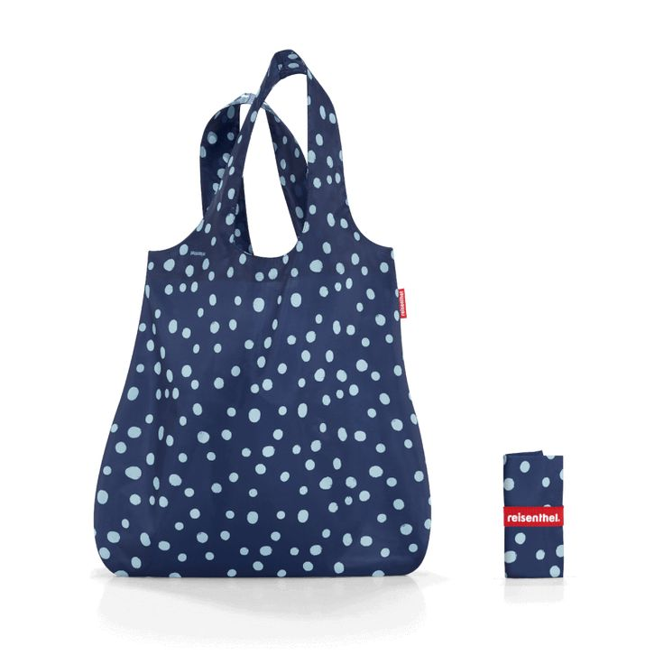 mini maxi shopper spots navy