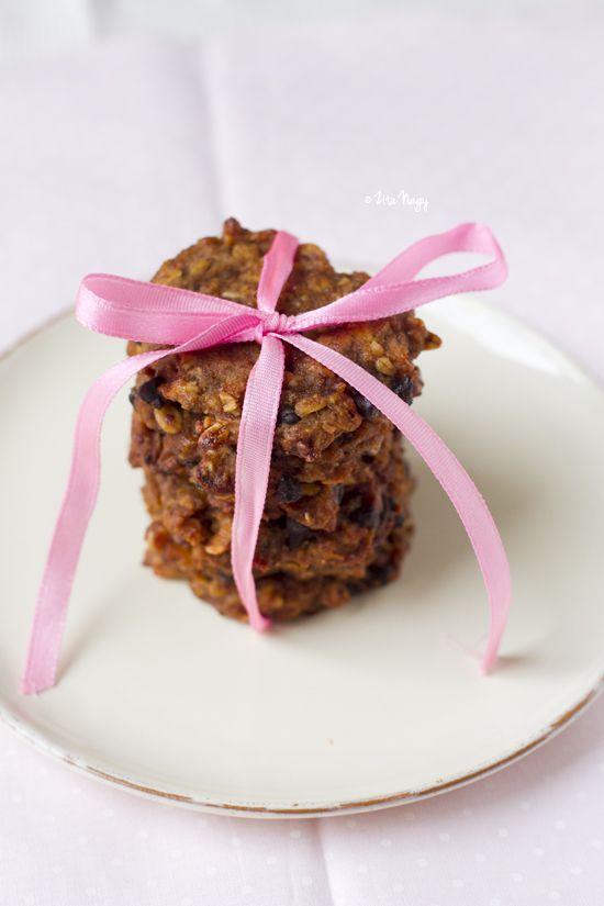 Vegán sütőtökös csokoládés keksz