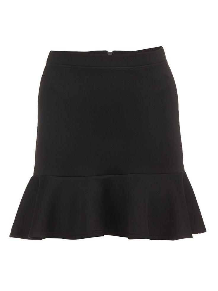 Trumpet Skirt Black