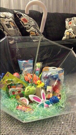 Umbrella Easter Basket by Dawn