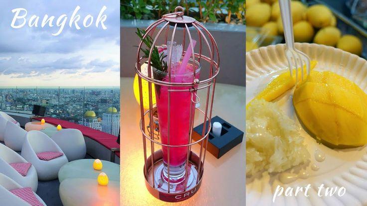 BANGKOK part two | Red Sky Bar & Street Food Tour