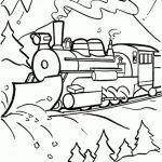 Christmas Coloring Pages in Polar Express Coloring Pages