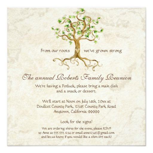 family reunion invitations heart tree family reunion - best of sample invitation letter gathering