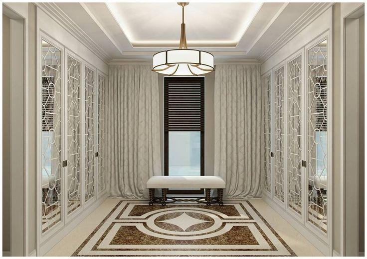 Квартира площадью 220 кв. м. в современном классическом стиле