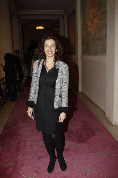 """François Hollande """"tombé sous le charme"""" d'Audrey Azoulay… grâce à Julie Gayet - Yahoo People"""