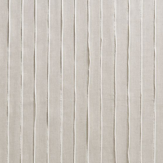 Kendal Natural Curtain Panels in Curtains | Crate and Barrel