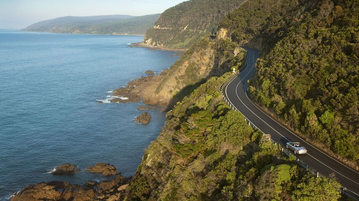 151-mile stretch of beauty - The Great Ocean Road. Australia